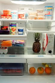 Votre refrigérateur doit toujours avoir: fruits, légumes, boissons naturelles...